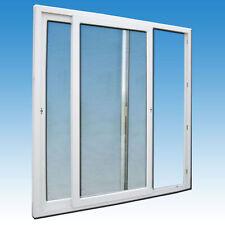 Schiebetür 265 x 200 weiß Balkon Terrasse Wintergarten Fenster