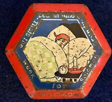 Solomon Grundy Sweet Tin c1925-1930