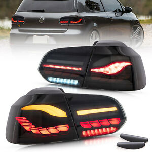 VLAND OLED Tail lights For Volkswagen Golf 6 2008-2014 With Sequential indicator