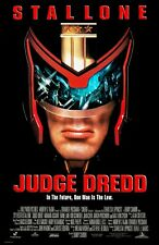 Judge Dredd poster  : Sylvester Stallone : 11 x 17 inches