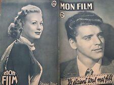 """MON FILM 1949 N° 135 """" ILS ETAIENT TOUS MES FILS """" avec BURT LANCASTER"""