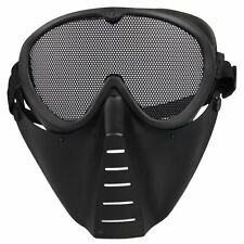 Mask Airsoft protective mask Paintball Black New N3