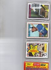 1988 topps rack pack 42 ct don mattingly yankees a/s cecil fielder on top