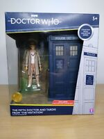 """Doctor Who Collector Series The Fifth Doctor And TARDIS From """"The Visitation""""."""