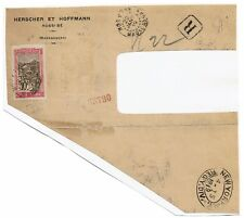 Madagascar 1919 Registered Cover, Pasted to Album Page - Lot 101517