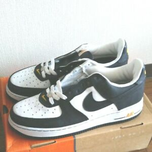 NIKE Air Force 1 JD Sports 306509 103 White/Black Gold DS VINTAGE Rare Size 10