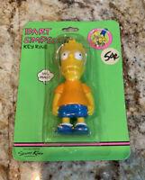 Vintage Bart Simpson Key Chain 1990 Original Package