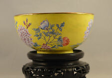 Antique chinese ORIENTAL ASIAN PEKING ENAMEL BOWL