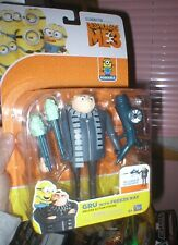 DESPICABLE ME 3 SERIES FIGURE GRU WITH FREEZER RAY, NEVER OPENED, THINKWAY TOYS