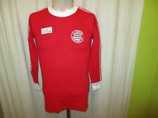 "FC Bayern Munich original Erima maillot manches longues 1974/75 ""sans sponsor"" taille S neuf"