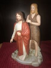 "Home Interiors ""The Baptism of Christ"" Greatest Stories Ever Told 2005 Jesus"