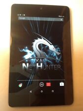 Nexus 7 32GB Kali Nethunter 3.15 Wifi Hacking Security Penetration Mr Robot