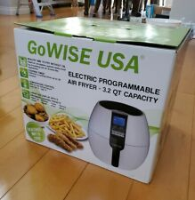 GoWise USA 3.2 Qt. Electric Programmable Air Fryer - White NIB