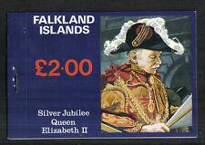 Falkland Is 1977 Queen Elizabeth II Silver Jubilee booklet (254a-56a) MNH