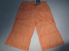 Girls Pumpkin Patch size 2 orange cotton Cargo Pants 3/4 length  BNWT