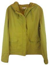 PENDLETON Womens Sz XL Lightweight Jacket Hooded Green Lined Zip/Button Front