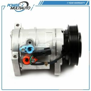 For Dodge Caravan Chrysler Town Country Voyager A/C AC Compressor & Clutch