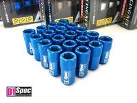 Blau Original D1-SPEC Inbus Lug Nuts Radmuttern M12 x 1.5 Set 20 D1Spec Ø19mm