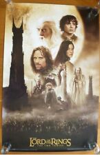 3 Lord Of The Rings Movie Posters New Sealed Unopened The Two Towers The Return