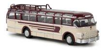 BREKINA 58062 - 1/87 SAURER 5 GVF-U BUS - WEINROT/HELLELFENBEIN - NEU