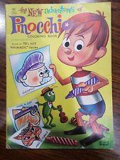 Based on Animagic series Pinocchio coloring book vintage RARE