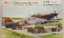 AZ Models 1/72 Hawker Hurricane MK I Early RAF Fighter 7257