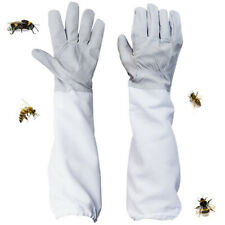 New Beekeeping Bee Gloves Sleeves Protection Anti Bee Ventilated Long Glovers