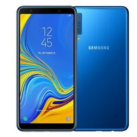 Samsung Galaxy A7 2018 A750F blue Android Smartphone Handy ohne Vertrag LTE WOW