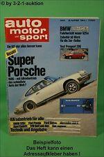 AMS Auto Motor Sport 8/83 DB 190 AMG Porsche Turbo Toyota Celica Cabrio