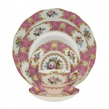 Royal Albert Lady Carlyle 60Pc China Set, Service for 12