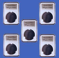 5 Pak Little Bear Elite Certified-Style Coin Holder Morgan Dollar