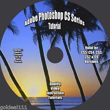 Adobe Photoshop CS6-CS5-CS4-CS3-CS2-CS VIDEO TUTORIAL