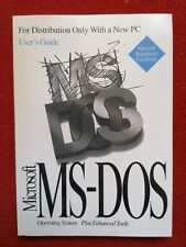 Ms Dos Users Guide