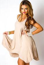 Damen Kleid Rosa Longshirt Top Minikleid Gr. S/M neu Strandkleid 047