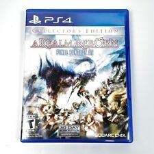New listing Final Fantasy Xiv A Realm Reborn Collectors Edition Cib Tested