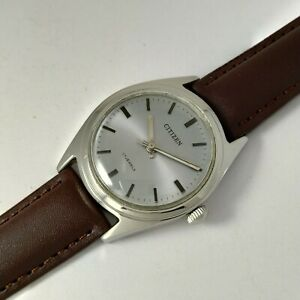 Citizen NOS Hand winding watch, Gray Dial, Rare vintage Classic* Japan Made*DHL