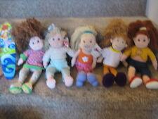 Groovy Girls Dolls Huggable Holly Carissa Cuddly Crystal Sassy Star Surf Lot 6