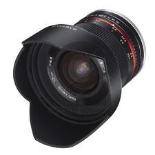 Samyang Ziel 12mm f/2.0 NCS CS für Canon M Black Schwarz