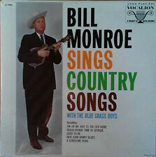 BILL MONROE - SINGS COUNTRY SONGS - VOCALION LP - STILL SEALED