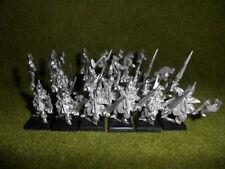 Warhammer Fantasy Dunkelelfen 16 Schwarze Korsaren Zinn