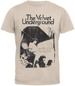 THE VELVET UNDERGROUND T-shirt White Light Heat VINTAGE Nico lou reed vinyl cd W
