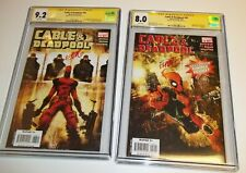 Cable & Deadpool 38 and 50 CGC Skottie Young signature series 8.0 9.2