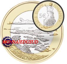 5 Euro Commémorative Finlande 2018 - Archipel Mer 5/9
