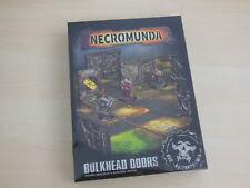 Warhammer Necromunda: Bulkhead Doors * Neu* Gelände
