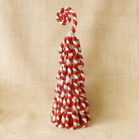 Red & White Candy Cane Tree or Tree Topper Christmas Winter Wedding Decoration