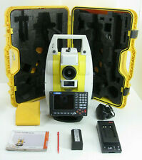 """LEICA GEOMAX ZOOM80 CARLSON CR2 2"""" PRISMRLESS ROBOTIC TOTAL STATION FO SURVEYING"""