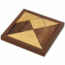 Handmade Wooden Tangram Puzzle Games For Kids Children Unique Kids Gifts Item