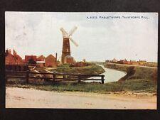 RP Vintage Postcard - Lincolnshire #B28 - Mablethorpe: Trusthorpe Mill - 1921