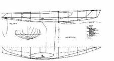 Bauplan Olympic Modellbauplan Segelyacht Schiffsmodell