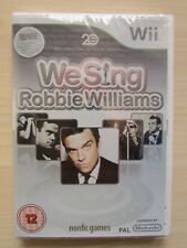 WE SING ROBBIE WILLIAMS - NINTENDO Wii BRAND NEW/SEALED.